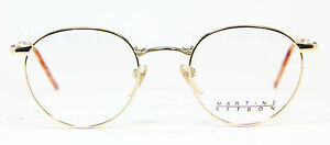 MARTINE-SITBON-Classic-Brille-Eyeglasses-Occhiali-Lunettes-Gafas-6523-Gold-Panto