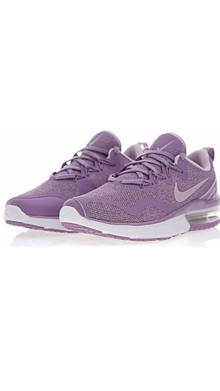 W Nike Air Max Fury Shoes Violet Dust/Pum Fog/Off White AA5740 500 Wmns Size 7.5