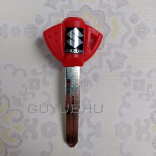 5pcs Red//Blue//Black Blank Key Uncut For Suzuki GSX GSX-R 600//750//1000//1300 Moto