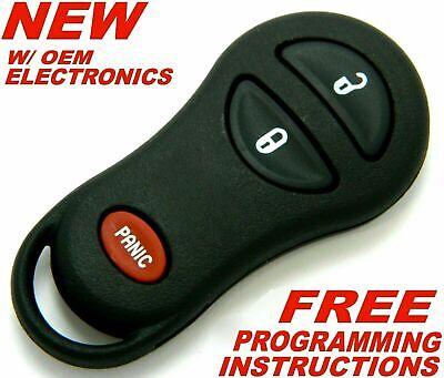 Key Fob fits 1999 2000 2001 2002 2003 2004 2005 Chrysler Dodge Keyless Entry Remote 04686481