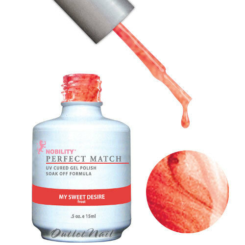 LeChat Perfect Match SINGLE Bottle Gel Polish PART 2 UV LED Soak Off 15 mL/0.5oz