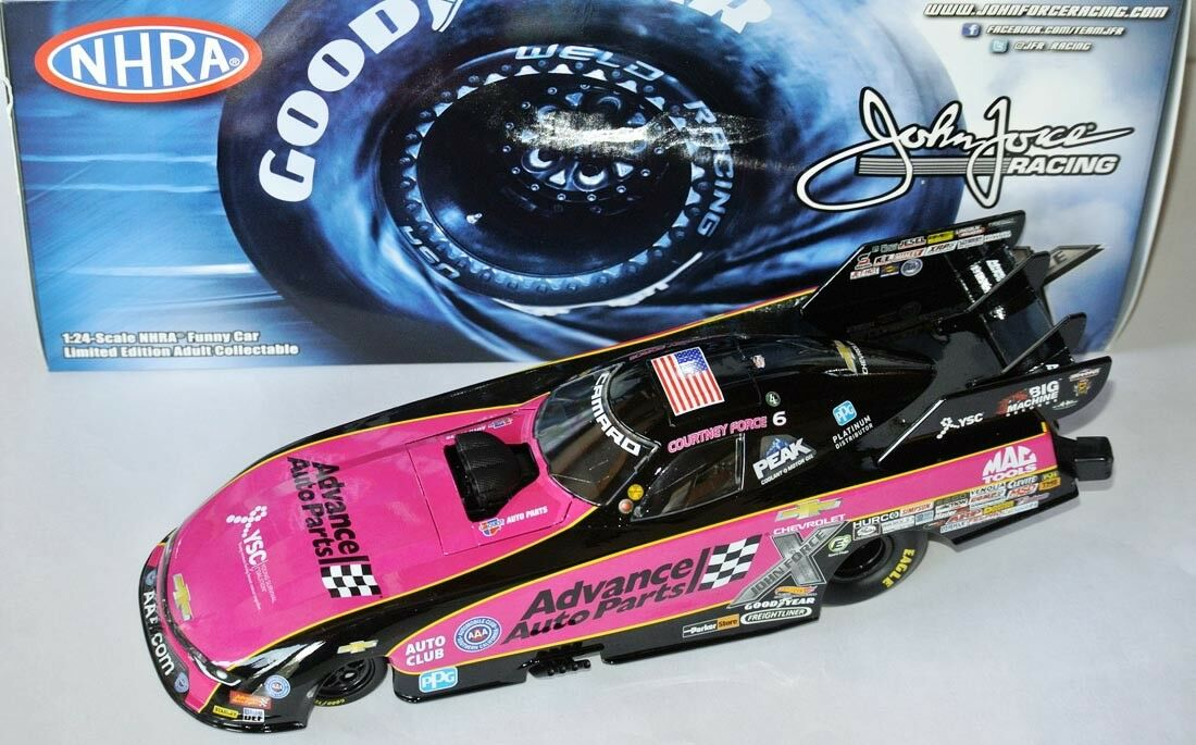 NHRA Camaro Funny Car 2017  Advance AUTO PARTS rose  Courtney Force - 1 24