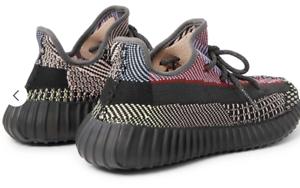 Détails sur Adidas X Kanye West Yeezy Boost 350 V2 Yecheil non Reflective Chaussures Baskets
