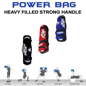 Weighted Bag Filled Sand Power Bag Home Training MMA Strength Crossfit 30kg PRO