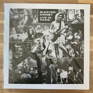 Sleater-Kinney-Live-In-Paris-2017-Vinyl-LP-Like-New-NM-NM-SP1191