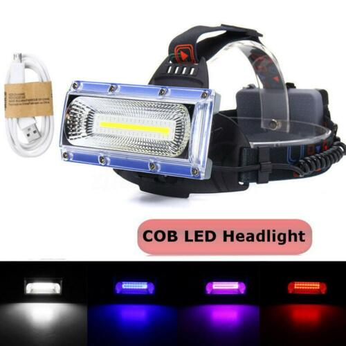990000LM LED USB Rechargeable 18650 Headlamp Headlight Fishing Torch Flashlight