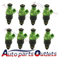Set 8 42lb 440cc Ev1 Fuel Injectors For Gm Lt1 Ls1 Ls6 Ford Mustang Sohc Dohc