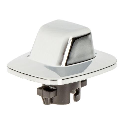 OEM NEW Rear License Plate Light Lamp Lens Chrome 85-01 Chevrolet GMC 916438