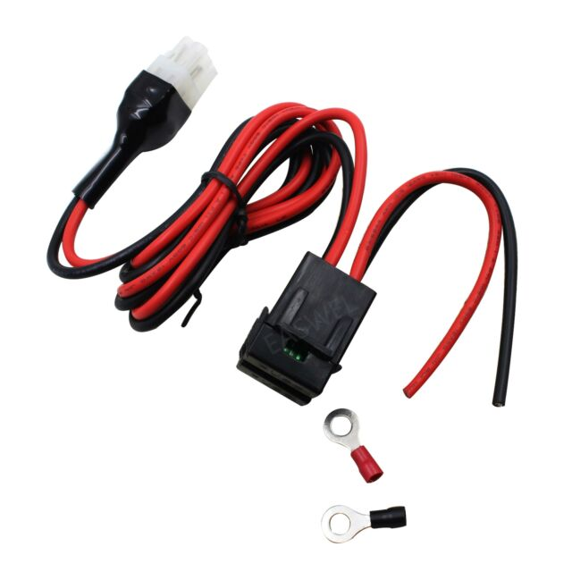 6 pin 12AWG DC power cord cable for Icom IC-706 IC-718 IC-746 IC-745 IC-756