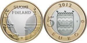 Finlande 5 euro 2012 - Province Uusimaa - Cathédrale Helsinki UNC