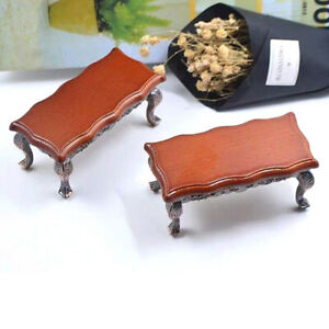 1-12-Dollhouse-Miniature-Mini-Wooden-Coffee-Table-Simulation-Table-Furniture-YK