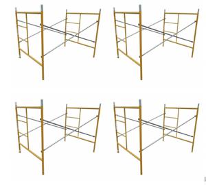 w// 7/' Bracing BJ Style Standard 5/'X5/' Set of 4