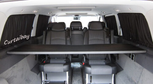 Mercedes Vito 638 curtain set for 2 side windows curtains grey color