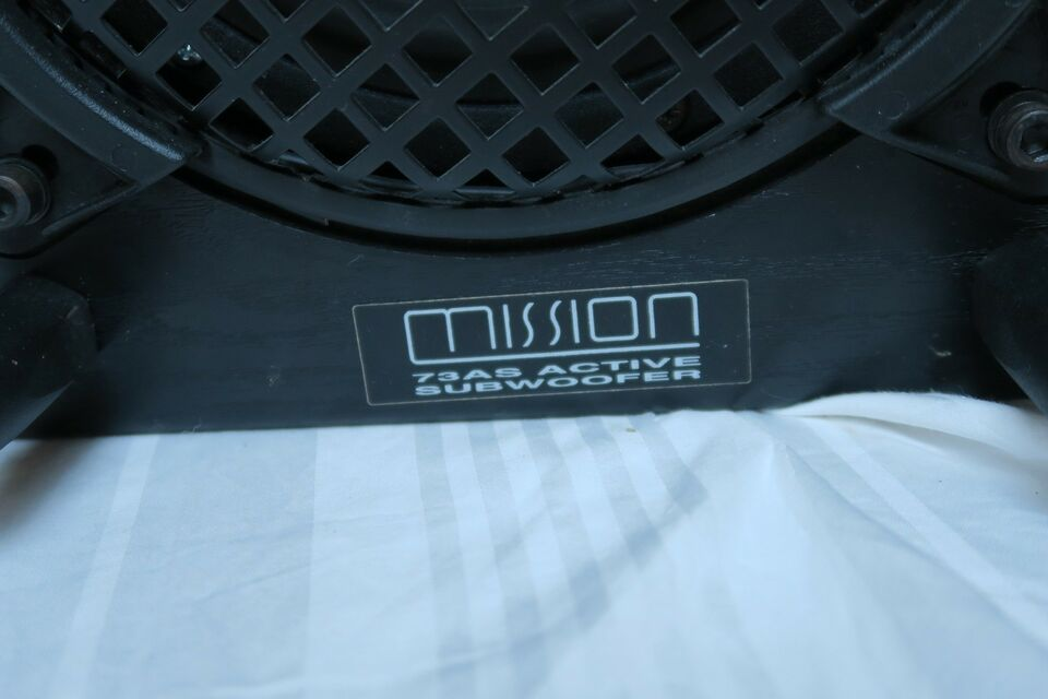 Subwoofer, Mission, 73AS