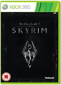 Xbox-360-IL-VECCHIO-PERGAMENE-V-5-Skyrim-Nuovo-e-Sigillato-UFFICIALE-STOCK-Regno-Unito