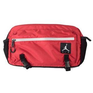 Details about Nike Air Jordan Jumpman Crossbody BagFanny Pack NWT RedBlack JSW 9A0089 R78