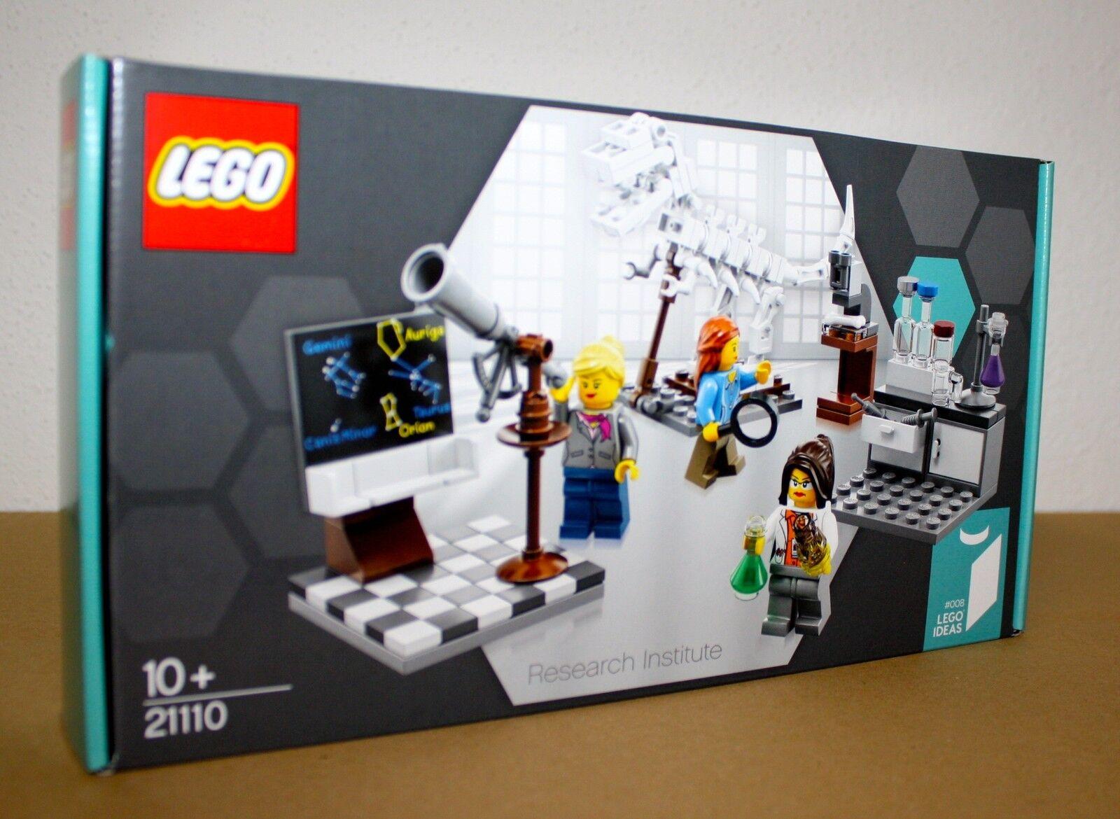 LEGO® IDEAS 21110 Forschungsinstitut  Neu & OVP