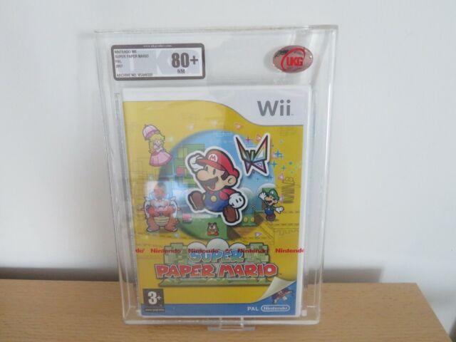 Super Paper Mario - Nintendo Wii - NEW SEALED red strip UK Version