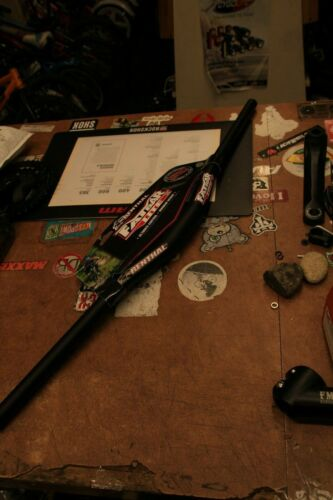 Renthal Fatbar Lite Mountain Bike Handlebar 20mm Rise 35mm Clamp Black 760mm