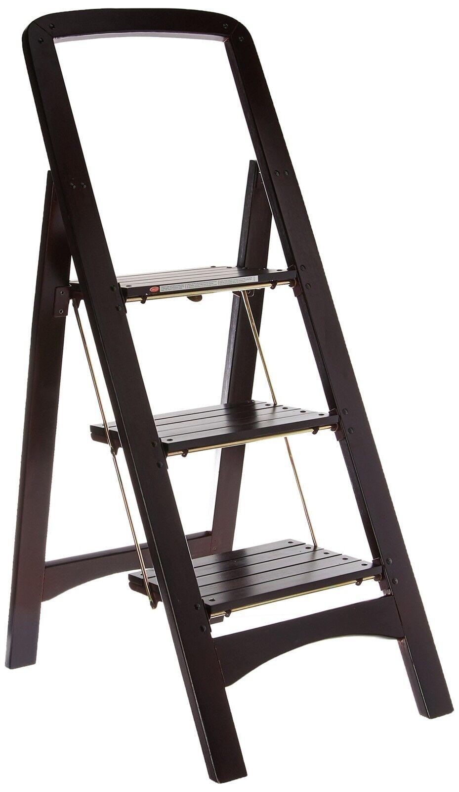 Folding 3 Step Ladder Stool Household