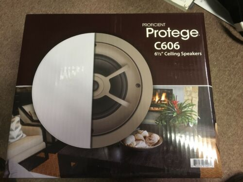 """Proficient Protege C606 In Ceiling Speakers 6.5/"""" Coxial  This is for a Pair"""