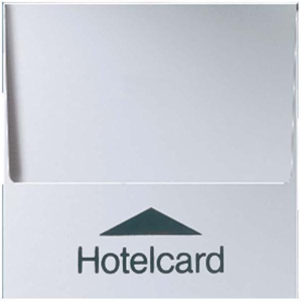 Jung Hotelcard-Schalter alu A 590 CARD AL IP20 Aluminium Plus A590CARDAL | Modern Und Elegant