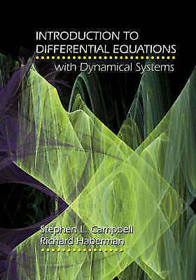 1 of 1 - Introduction to Differential Equations with Dynamical Systems by Richard Haberma