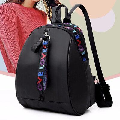 Women Waterproof Oxford Cloth Travel Backpack Shoulder Rucksack