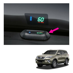 Projector Head up Display Speedometer Genuine Black For