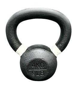 70 lbs Strencor EKG Kettlebell Black Cast Iron Color-Coded 32 kg