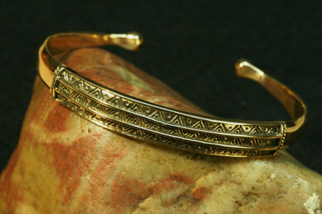 Viking Armlet Historical Wrist jewellery Bronze gorgeous Viking pattern Viking