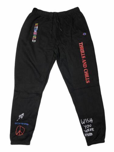 Travis Scott Astroworld Champion Sweatpants XL 32