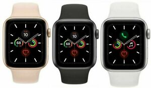 Apple-Watch-Series-5-GPS-ALUMINIUM-CASE-WITH-SPORTS-BAND-gt-BRAND-NEW-SEALED-lt
