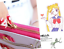 Femmes Cosplay Anime Wallet 20th Anniversaire Mignon Long Sac à main Sailor Moon Sac