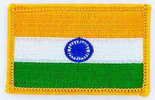 PATCH ECUSSON BRODE DRAPEAU INDE  INSIGNE THERMOCOLLANT NEUF FLAG PATCHE