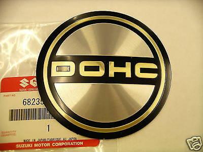 g Genuine Suzuki DOHC Engine Emblem Sticker GS1000 GS400 NOS