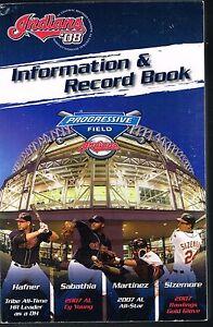 2008 Cleveland Indians MLB Baseball Media Guide