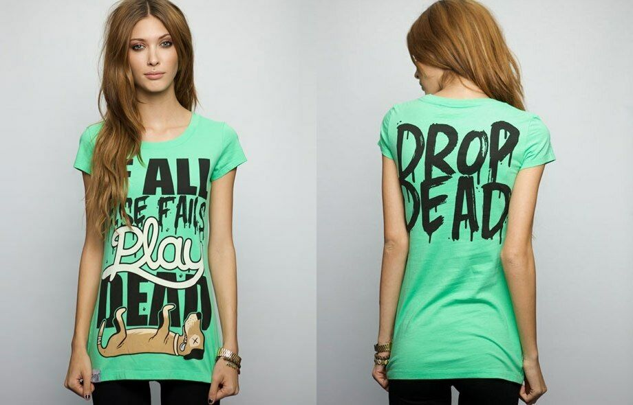 Drop Dead Clothing - Play Dead Tee Tshirt Rare BMTH Oliver Sykes