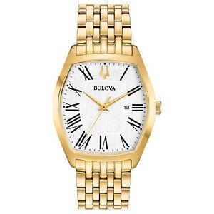 Bulova-Women-039-s-Classic-Ambassador-Quartz-Gold-Tone-31-5mm-Watch-97M116