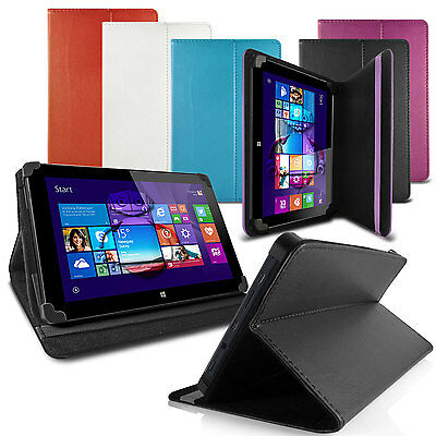 """LUXFOLIO STAND LEATHER CASE WALLET FOR LENOVO TAB A8 S8 8"""" TABLET"""