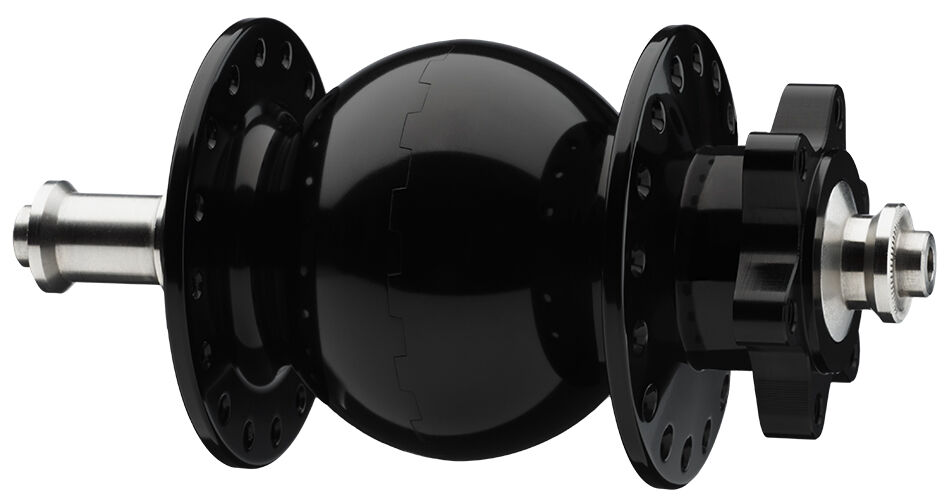 Dynamo à MOYEUX 28 135 disque black pour fatbikes 32 trou VR ou HR Standard