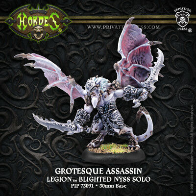 Legion of Everblight Grotesque Assassin Solo Metal Hordes New