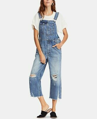 NWT Free People Carly Flare Overalls Retail $128