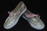 Sperry Top-sider Girls Biscayne 1 Eye Glitter Boat Shoes - Asst Sizes & Color