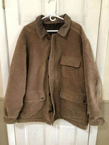 Barbour Moleskin Lined Jacket Men's XL