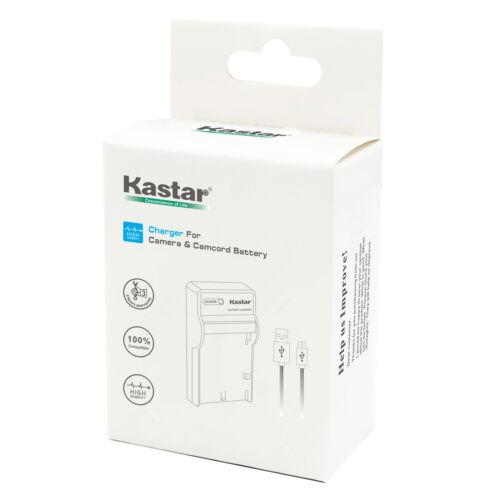 Kastar Slim USB Cargador De Batería Para Canon LP-E17 LC-E17 /& Canon EOS 77D Cámara