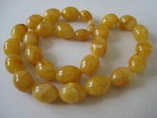 Oliven-Bernsteinkette Olive Egg Yolk Amber Necklace Butterscotch