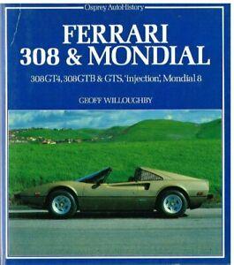 FERRARI-308-GT4-GTB-GTS-MONDIAL-8-039-73-82-DEVELOPMENT-amp-PRODUCTION-HISTORY-BOOK