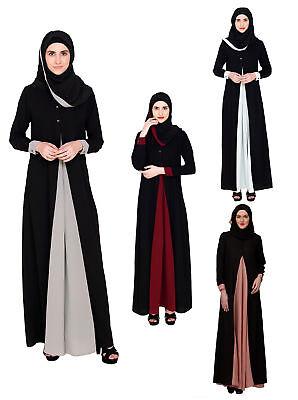 Ladies Womens Batwing Maxi Full Sleeve Dress Farasha Style Abaya Modest Jilbab