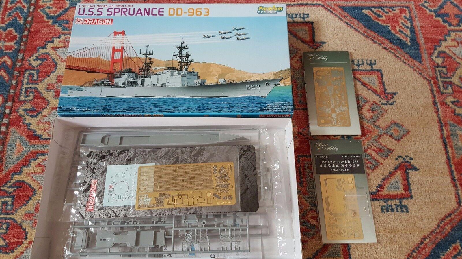 USS SPRUANCE – DRAGON + UPGRADE ARTIST HOBBY - 1 700